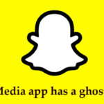 Which Social Media app has a ghost as its mascot ?