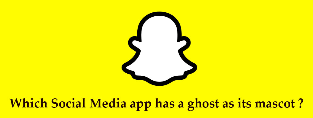 Read more about the article Which Social Media app has a ghost as its mascot ?